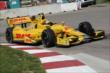 Ryan Hunter-Reay on course during practice for the Chevrolet Dual in Detroit -- Photo by: Joe Skibinski