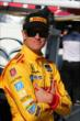 Ryan Hunter-Reay on pit lane prior to qualifications for Race 1 of the Chevrolet Indy Dual in Detroit -- Photo by: Chris Jones