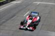 Justin Wilson on the frontstretch during Race 1 of the Chevrolet Indy Dual in Detroit -- Photo by: Chris Jones