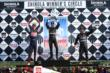 Graham Rahal, Will Power and Tony Kanaan -- Photo by: Chris Jones