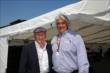 Hulman & Co. CEO Mark Miles with Sir Jackie Stewart at the Chevrolet Indy Dual in Detroit -- Photo by: Chris Jones