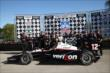 Will Power wins #DetroitGP race 1! -- Photo by: Chris Jones