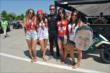 Mike Conway meets with the fans at Belle Isle -- Photo by: Chris Owens