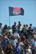 The grandstands fill prior to the start of Race 1 of the Chevrolet Indy Dual in Detroit -- Photo by: Chris Owens