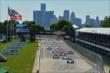 The start of Race 1 of the 2014 Chevrolet Indy Dual in Detroit -- Photo by: Chris Owens