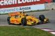 Ryan Hunter-Reay apexes Turn 4 during Race 1 of the Chevrolet Indy Dual in Detroit -- Photo by: Chris Owens