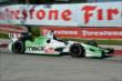 Sebastien Bourdais enters Turn 5 during Race 1 of the Chevrolet Indy Dual in Detroit -- Photo by: Chris Owens