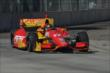Sebastian Saavedra on course during Race 1 of the Chevrolet Indy Dual in Detroit -- Photo by: Chris Owens