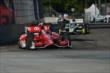 Scott Dixon leads Josef Newgarden into Turn 5 during Race 1 of the Chevrolet Indy Dual in Detroit -- Photo by: Chris Owens
