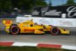Ryan Hunter-Reay exits Turn 3 during Race 1 of the Chevrolet Indy Dual in Detroit -- Photo by: Chris Owens
