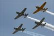 Flyover for Race 1 of the Chevrolet Indy Dual in Detroit -- Photo by: Joe Skibinski