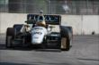 Mike Conway on course during qualifications for Race 1 of the Chevrolet Indy Dual in Detroit -- Photo by: Joe Skibinski