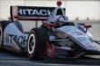 Helio Castroneves on course during qualifications for Race 1 of the Chevrolet Indy Dual in Detroit -- Photo by: Joe Skibinski