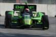 Jack Hawksworth on course  during qualifications for Race 1 of the Chevrolet Indy Dual in Detroit -- Photo by: Joe Skibinski