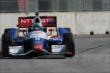 Ryan Briscoe on course during qualifications for Race 1 of the Chevrolet Indy Dual in Detroit -- Photo by: Joe Skibinski