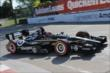 Tony Kanaan on course during qualifications for Race 1 of the Chevrolet Indy Dual in Detroit -- Photo by: Joe Skibinski