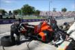 Simon Pagenaud in for service during Race 2 of the Chevrolet Indy Dual in Detroit -- Photo by: Chris Jones