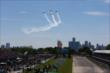 A fantastic flyover during pre-race festivities for Race 2 of the Chevrolet Indy Dual in Detroit -- Photo by: Chris Jones