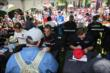 Drivers sign autographs in the INDYCAR Fan Village at Belle Isle -- Photo by: Chris Jones