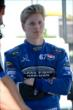 Josef Newgarden in his pit stand prior to qualifications for Race 2 of the Chevrolet Indy Dual in Detroit -- Photo by: Chris Owens