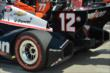 The cars of Simon Pagenaud and Will Power prior to the start of Race 2 of the Chevrolet Indy Dual in Detroit -- Photo by: Chris Owens