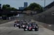 The start of Race 2 of the Chevrolet Indy Dual in Detroit at Belle Isle Park -- Photo by: Chris Owens