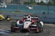 Helio Castroneves apexes Turn 7 during Race 2 of the Chevrolet Indy Dual in Detroit -- Photo by: Chris Owens