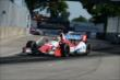 Justin Wilson enters Turn 13 during Race 2 of the Chevrolet Indy Dual in Detroit -- Photo by: Chris Owens