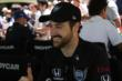 James Hinchcliffe poses for a photo during the INDYCAR Fan Village autograph session at Belle Isle -- Photo by: Joe Skibinski
