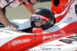 Zach Veach prepares to make his qualification run at Auto Club Speedway -- Photo by: Chris Owens
