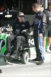 Kyle O'Gara chats with owner Sam Schmidt prior to qualifications for the Lefty's Kids Club 100 -- Photo by: Richard Dowdy