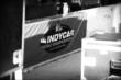 An INDYCAR World Championships banner hangs on pit lane wall -- Photo by: Chris Owens