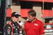 Sage Karam is interviewed following the Lefty's Kids Club 100 at Auto Club Speedway -- Photo by: Richard Dowdy