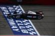 Will Power crosses the start/finish line during the Open Test at Auto Club Speedway -- Photo by: Chris Jones