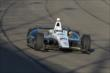 Ed Carpenter enters Turn 3 during the Open Test at Auto Club Speedway -- Photo by: Joe Skibinski