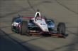 Will Power enters Turn 3 during the Open Test at Auto Club Speedway -- Photo by: Joe Skibinski