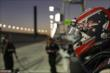 Will Power waits on pit lane prior to the evening Open Test session at Auto Club Speedway -- Photo by: Joe Skibinski