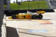 Conor Daly hits the apex of Turn 6 during practice in Houston -- Photo by: Bret Kelley