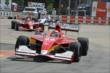 Carlos Munoz leads Juan Pablo Garcia through the Turn 2 chicane in Houston -- Photo by: John Cote