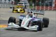 Jack Hawksworth leads Peter Dempsey through the Turn 2 chicane in Houston -- Photo by: John Cote