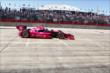 Dario Franchitti exits the Turn 2 chicane during Race 2 of the Shell and Pennzoil Grand Prix of Houston -- Photo by: Bret Kelley