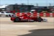 Scott Dixon powers through the Turn 2 chicane during Race 2 of the Shell and Pennzoil Grand Prix of Houston -- Photo by: Bret Kelley