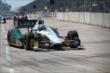 Ed Carpenter on course during an early caution period of Race 2 of the Shell and Pennzoil Grand Prix of Houston -- Photo by: Chris Jones