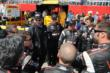 Verizon Team Penske in a team meeting prior to Race 2 of the Shell and Pennzoil Grand Prix of Houston -- Photo by: Chris Owens