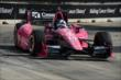 Dario Franchitti exits Turn 3 during Race 2 of the Shell and Pennzoil Grand Prix of Houston -- Photo by: Chris Owens