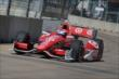 Scott Dixon rolls through Turn 5 during Race 2 of the Shell and Pennzoil Grand Prix of Houston -- Photo by: Chris Owens