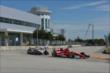 Scott Dixon leads Will Power into Turn 4 during Race 2 of the Shell and Pennzoil Grand Prix of Houston -- Photo by: John Cote
