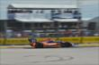 Charlie Kimball streaks through Turn 4 during Race 2 of the Shell and Pennzoil Grand Prix of Houston -- Photo by: John Cote