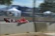 Scott Dixon streaks down the track during Race 2 of the Shell and Pennzoil Grand Prix of Houston -- Photo by: John Cote