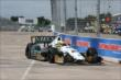Mike Conway on track in Practice 1. -- Photo by: Chris Jones